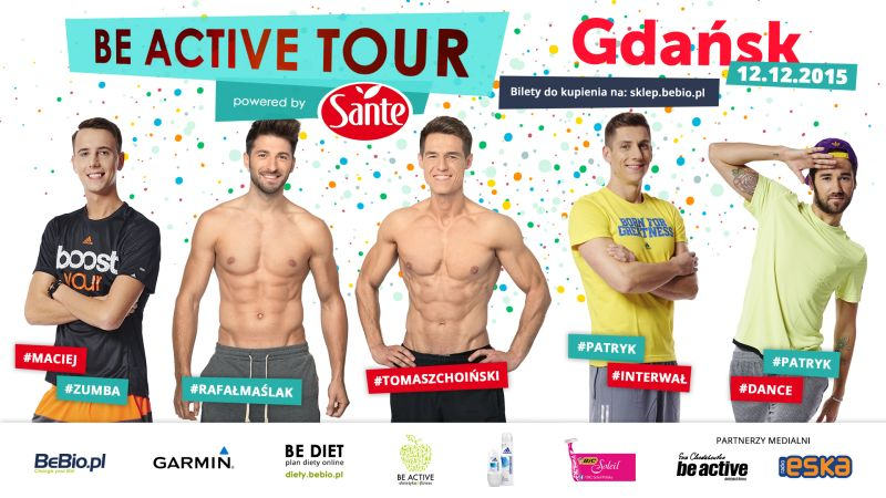 Be Active Tour Powered by Sante Ewa Chodakowska 12.12.2015 Gdańsk