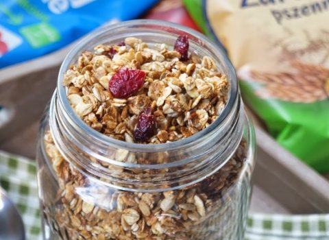 Domowa granola kokosowa