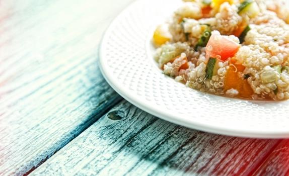 Tabbouleh z quinoa