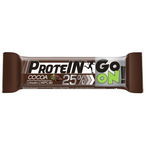 Baton proteinowy 25% GO ON kakaowy 50g