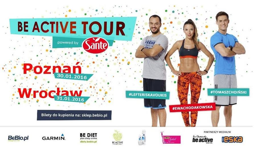 Be Active Tour Powered by Sante Ewa Chodakowska