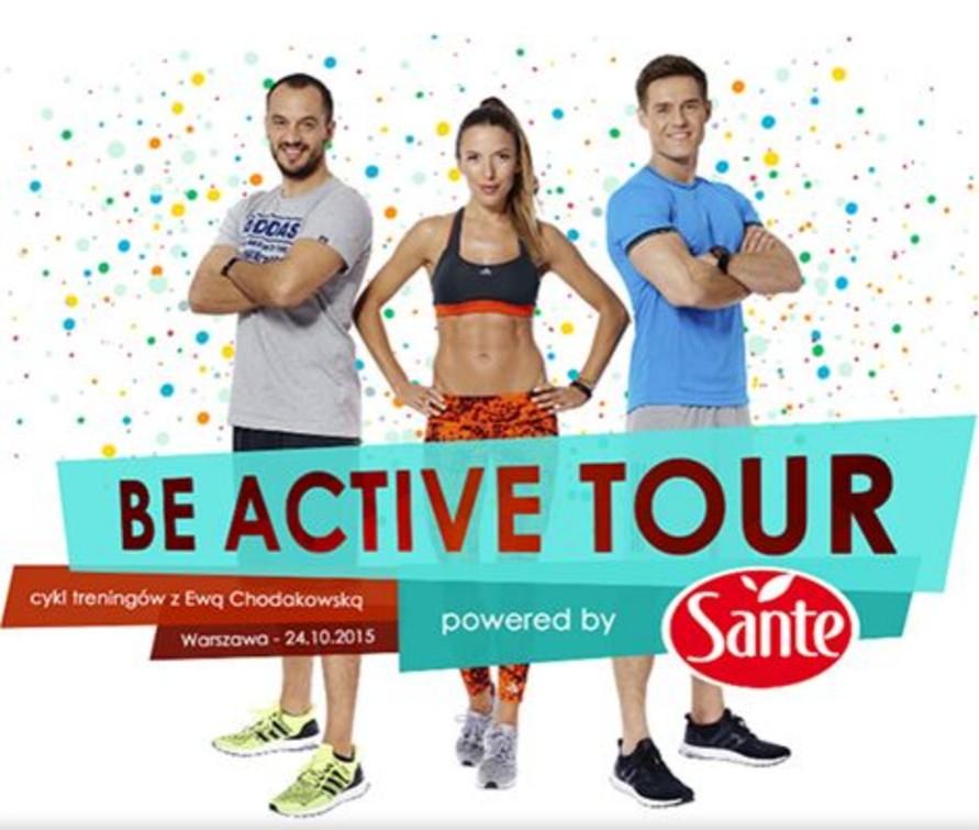 Be Active Tour Powered by Sante Ewa Chodakowska 24.10 Warszawa