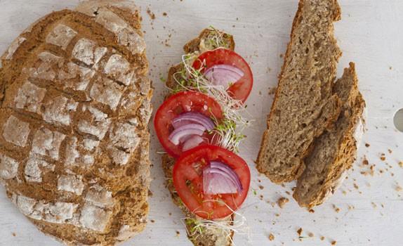Bardzo prosty chleb z ostropestem plamistym