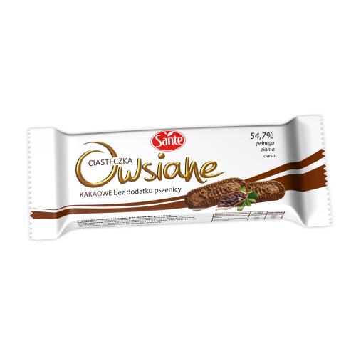 Ciasteczka owsiane kakaowe 30g