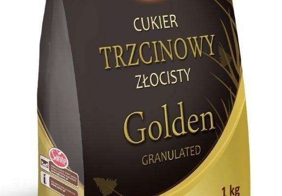 Cukier trzcinowy Golden Sante 1kg