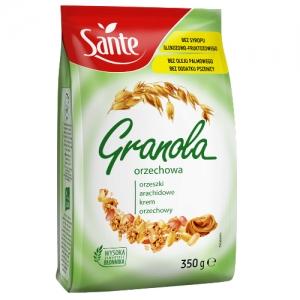 Granola Orzechowa Sante 350g