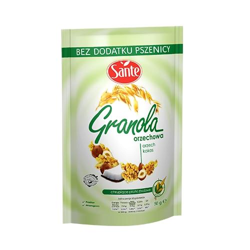 Granola orzechowa 50g