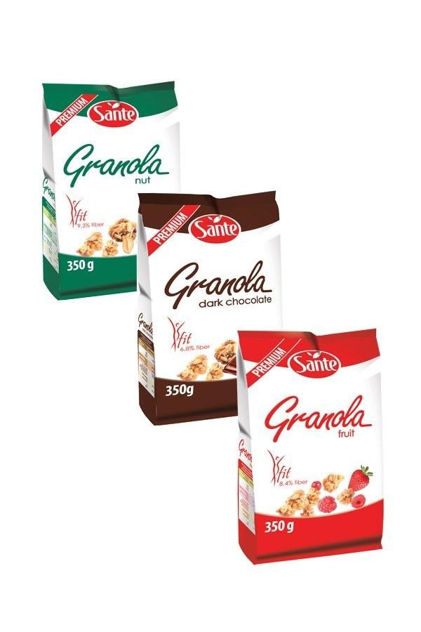 Nowe, smaczniejsze i zdrowsze Granole!
