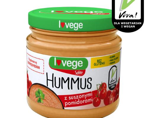 Hummus z pomidorami w słoiku 180g