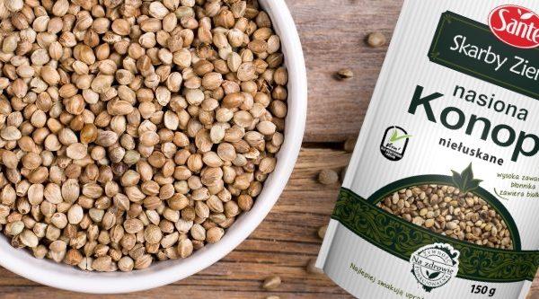 Niełuskane nasiona konopi siewnej – absolutny hit zdrowej diety!