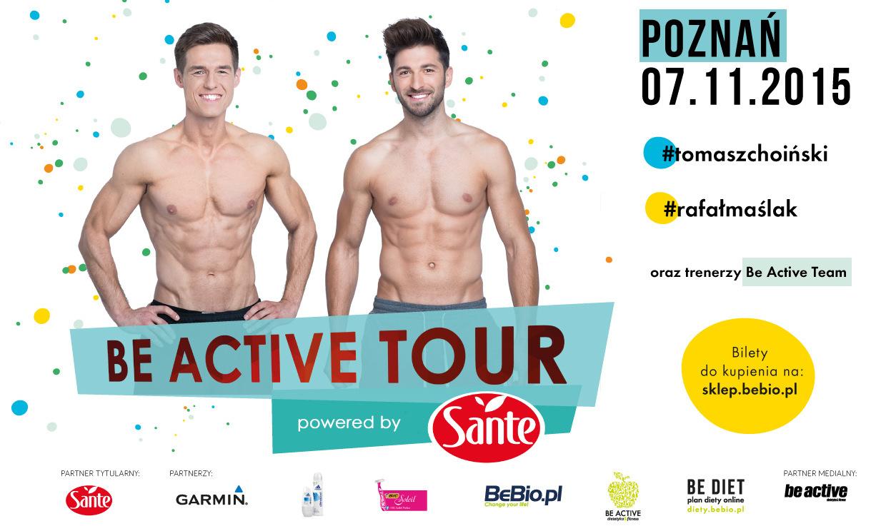 Be Active Tour Powered by Sante Ewa Chodakowska 7.11.2015 Poznań