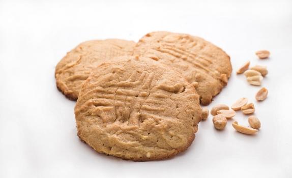 Amerykańskie ciasteczka z masłem orzechowym