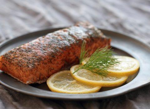 Ryba w słoneczniku