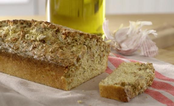 Chlebek z otrębami i ziołami