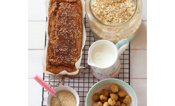 Chlebek owsiano-bananowy bez mąki