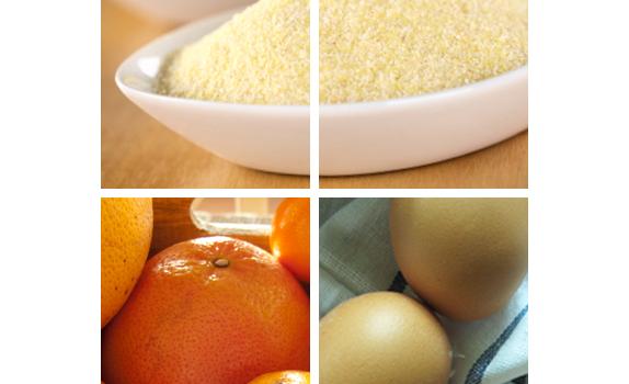 Dietetyczne i szybkie ciasto pomarańczowe z ksylitolem