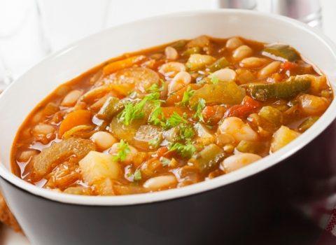 Gęsta zupa warzywna