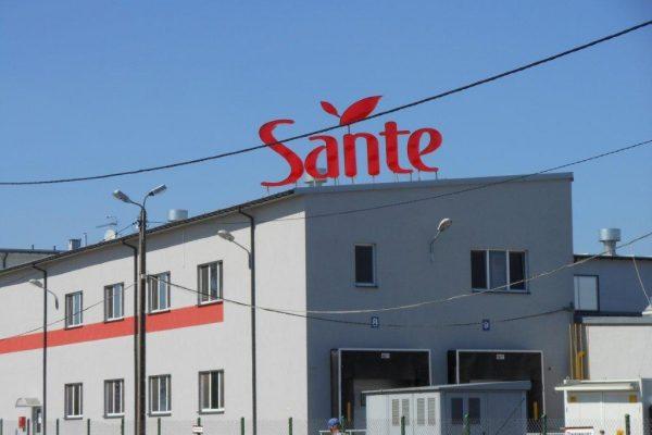 sante 2012 zaklad produkcyjny w sobolewie