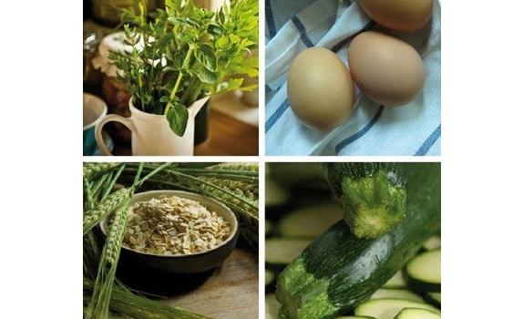 Zdrowe kotleciki z płatków owsianych, warzyw oraz świeżych ziół