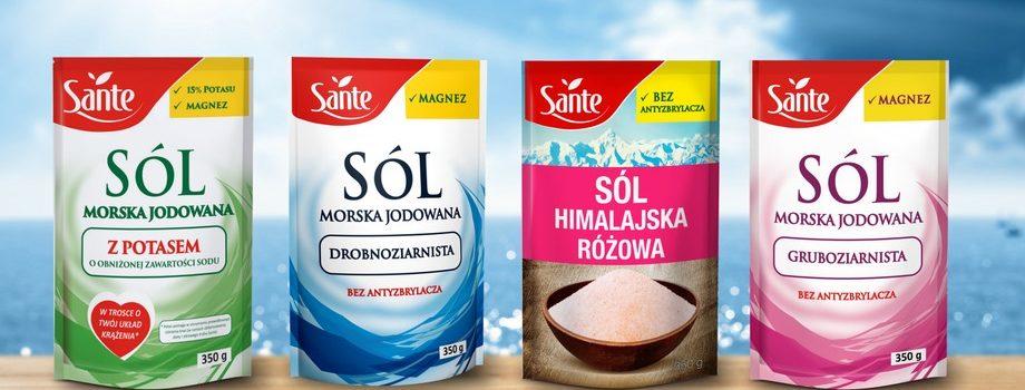 Sól morska Sante