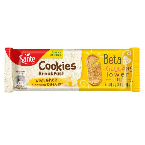 Ciasteczka śniadaniowe Cookies z masłem klarownym ghee 50g