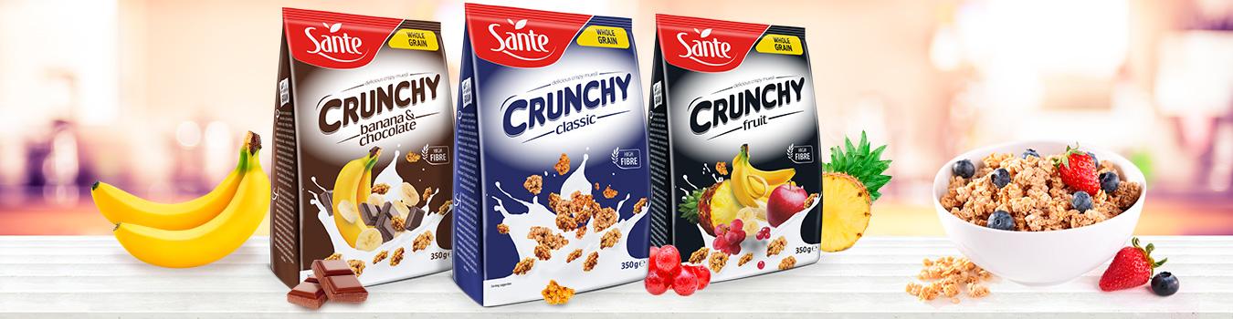 Płatki śniadaniowe Crunchy Sante