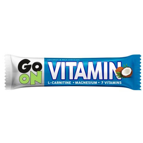 Baton energetyczny GO ON Vitamin kokosowy 50g Sante