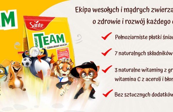 Płatki śniadaniowe Smart Team