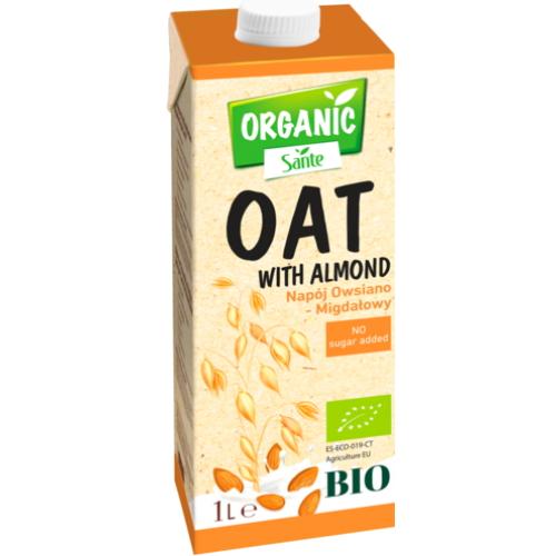 Organic Sante napój roślinny owsiano-migdałowy 1l