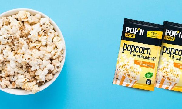 Popcorn o smaku maślanym do mikrofali Sante