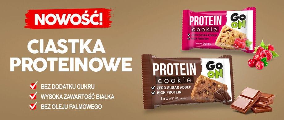 Ciasteczka Proteinowe GO ON Sante - brownie i owocowe 50 g
